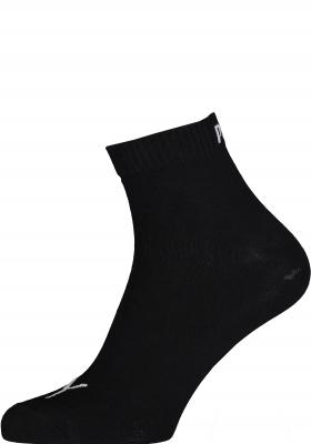 Puma unisex sneaker sokken (6-pack), zwart