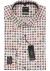 OLYMP Luxor modern fit overhemd, mouwlengte 7, meerkleurig gebloemd dessin (contrast)