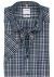 OLYMP Tendenz modern fit overhemd, korte mouw, blauw geruit