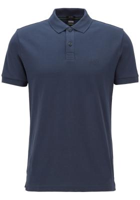 HUGO BOSS Piro regular fit polo, heren polo korte mouw, blauw