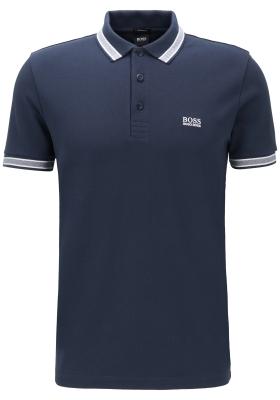 Hugo Boss Regular Fit heren polo, Paddy, blauw