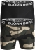 Bjorn Borg boxershorts Core (2-pack), zwart en camo