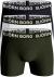 Bjorn Borg boxershorts Core (3-pack), wit, blauw en groen