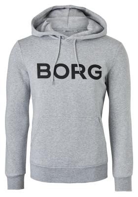 Bjorn Borg hoodie sweatshirt (dik), grijs