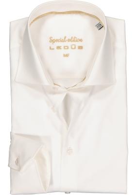 Ledub modern fit overhemd, beige twill