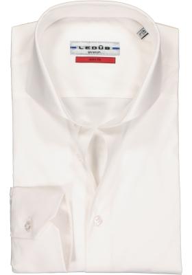 Ledub slim fit overhemd, wit