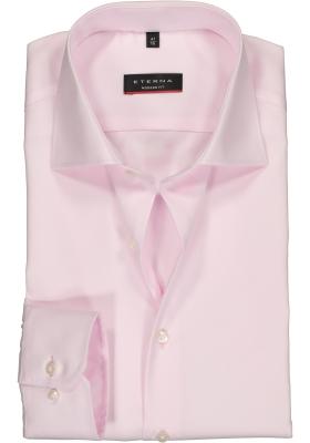 ETERNA modern fit overhemd, niet doorschijnend twill heren overhemd, licht roze