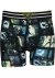 Muchachomalo boxershorts (3-pack), heren boxers normale lengte, Comic print met zwart