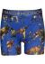Muchachomalo boxershorts (3-pack), heren boxers normale lengte, T-Rex print met zwart