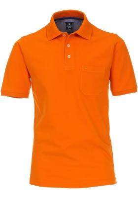 Redmond Regular Fit poloshirt, oranje