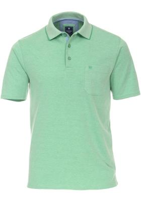 Redmond Regular Fit poloshirt, groen melange