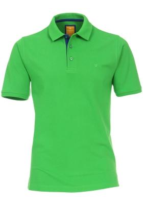 Redmond Modern Fit poloshirt, groen (blauw contrast)