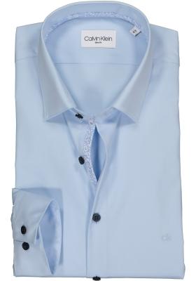 Calvin Klein Slim Fit overhemd, lichtblauw (contrast)