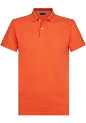 Profuomo Slim Fit  polo, oranje