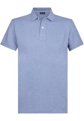 Profuomo Slim Fit  polo, blauw