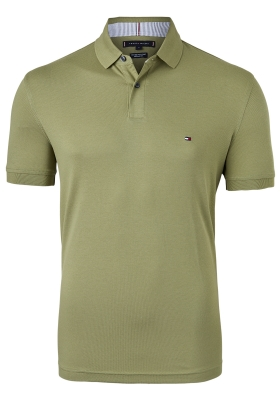 Tommy Hilfiger 1985 Regular Fit polo, olijf groen, Faded Olive