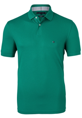 Tommy Hilfiger 1985 Regular Fit polo, groen, Courtside Green