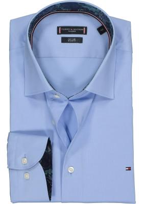 Tommy Hilfiger Regular Fit overhemd, lichtblauw (contrast)