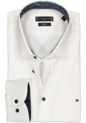 Tommy Hilfiger Regular Fit overhemd, wit (contrast)