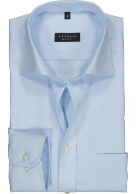 ETERNA comfort fit overhemd, poplin heren overhemd, lichtblauw