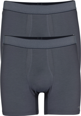 Sloggi Men Ever Fresh Short, heren boxers (2-pack), grijs