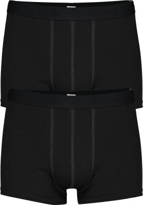 Sloggi Men 24/7 Short, heren boxers (2-pack), zwart