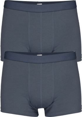 Sloggi Men 24/7 Short, heren boxers (2-pack), blauw