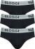 Sloggi Men GO Mini, heren slips (3-pack), zwart