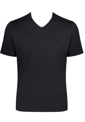Sloggi Men GO Shirt V-Neck Regular Fit, heren T-shirt (1-pack), zwart