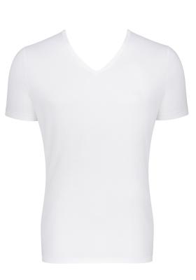 Sloggi Men GO Shirt V-Neck Slim Fit, heren T-shirt (1-pack), wit