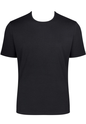 Sloggi Men GO Shirt O-Neck Regular Fit, heren T-shirt (1-pack), zwart