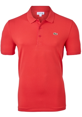 Lacoste Sport polo Regular Fit stretch, rode bessen rood
