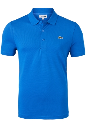 Lacoste Sport polo Regular Fit stretch, ultramarine blauw