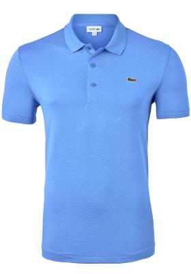 Lacoste Sport polo Regular Fit stretch, blauw-grijs