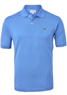 Lacoste Classic Fit polo, blauw-grijs