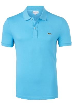Lacoste Slim Fit polo, Capri turquoise