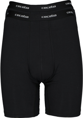 Ceceba heren boxer lang (2-pack), zwart