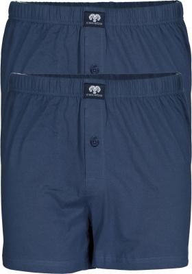 Ceceba heren boxershorts wijd (2-pack), blauw