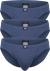 Ceceba heren slips buikmodel (3-Pack), blauw