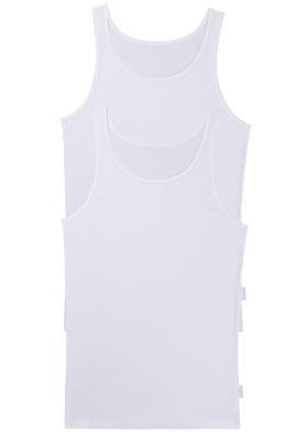 Sloggi Men 24/7 Vest, heren singlets (2-pack), wit