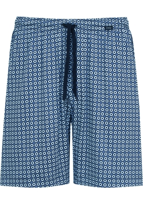 Mey pyjamabroek kort, Mornington, blauw dessin