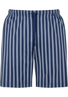 Mey pyjamabroek kort, Cranbourne, blauw gestreept