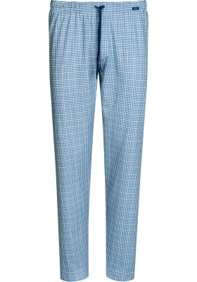 Mey pyjamabroek lang, Redesdale, blauw geruit