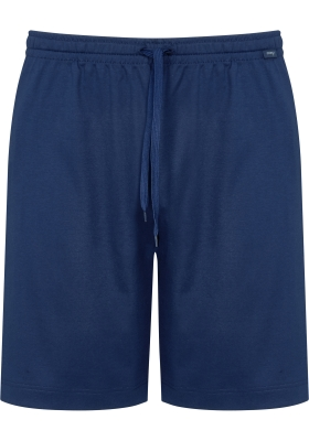 Mey pyjamabroek kort, Melton, blauw