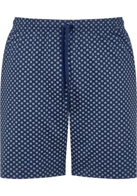 Mey pyjamabroek kort, Gisborne, blauw dessin