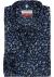 MARVELIS modern fit overhemd, mouwlengte 7, blauw met oranje gebloemd