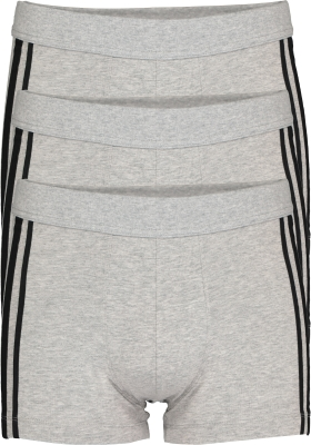 SCHIESSER 95/5 Stretch shorts (3-pack), grijs