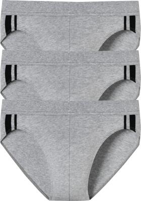 SCHIESSER 95/5 Stretch rio slips (3-pack), grijs