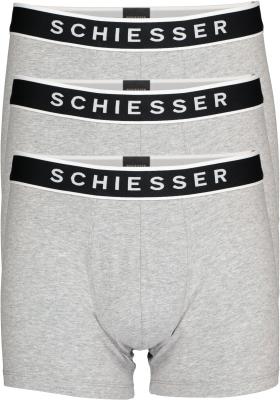 SCHIESSER 95/5 shorts (3-pack), grijs