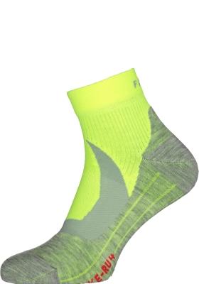 FALKE RU4 Cool Short korte heren hardloopsokken, neon geel